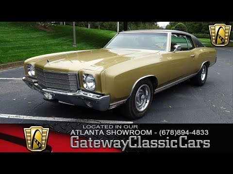 1970 Chevrolet Monte Carlo Gateway Classic Cars of Atlanta #944