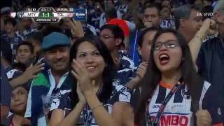 Gol de Dorlan Pabón Monterrey vs Toluca A2016