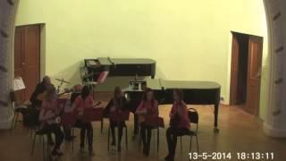 Полет шмеля-семейство домр-ансамбль СФорцандо под управлением Сергея Федорова
