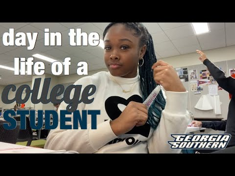 A DAY IN THE LIFE OF A COLLEGE STUDENT 💙💛