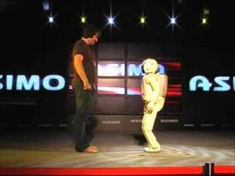 Honda ASIMO rocks with Gizmodo AU, part 2.1