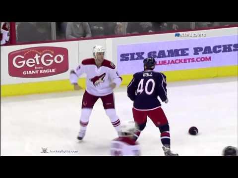 Paul Bissonnette vs Jared Boll