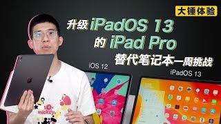 【大锤体验】升级 iPadOS 13 的 iPad Pro 替代笔记本一周挑战