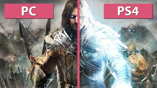 Middle-earth: Shadow of Mordor PC HD Textures vs. PS4 Graphics Comparison [Full HD]