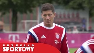 Kibice Bayernu Monachium o Robercie Lewandowskim