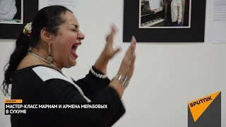 """Мариам Мерабова с супругом показали в Сухуме """"как делать джаз"""""""