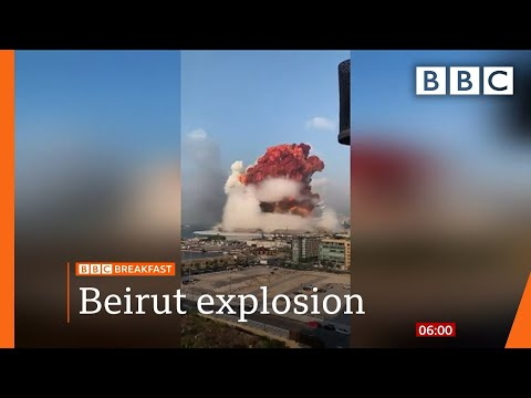 Beirut blast: Lebanon in mourning after massive explosion – Top stories this morning – BBC