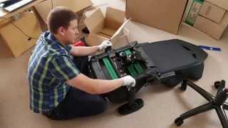 AK Racing Gaming Stuhl - der komplette Aufbau