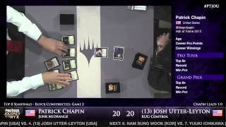 Pro Tour Journey into Nyx - Semifinals - Chapin vs. Utter-Leyton