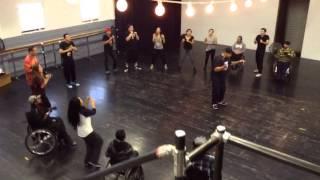Limitless Dance Rehearsal 2-9-14