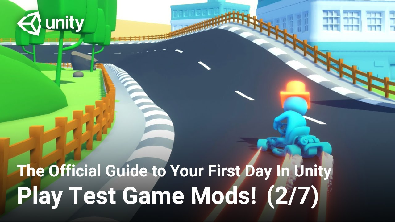How to Play Test Game Mods (Official Unity Tutorial)