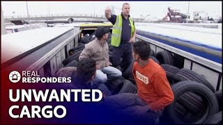 A Factory Filled With Illegal Workers | UK Border Force | Real Responders