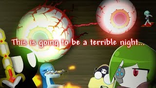 Stickmen Vs The Twins - Terraria Animation