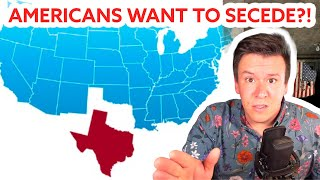 New Polls Show Americans Want to Secede! All Talk OR Are we looking at a Second Civil War? #Shorts