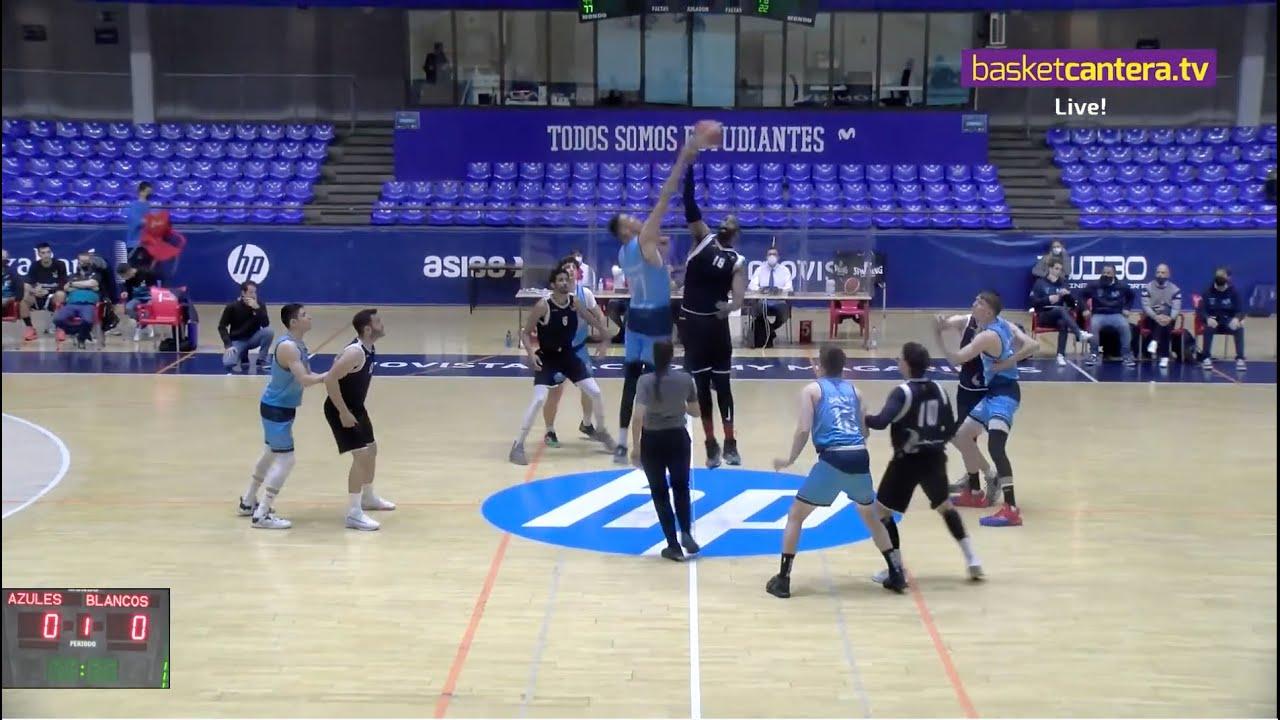 EBA - MOVISTAR ESTUDIANTES vs UROS de RIVAS.- Liga EBA (24-4-21) #BasketCantera.TV
