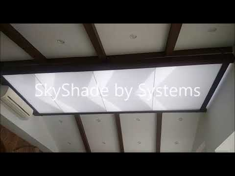 Motorised Skylight Blinds - SkyShade