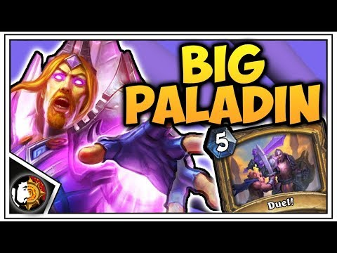 Hearthstone: Legend BIG Paladin (Part 2) - Rise Of Shadows