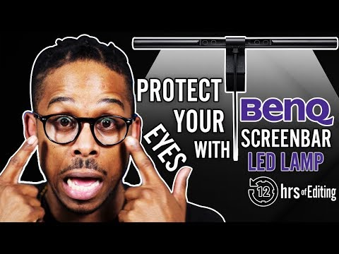 BEST Desk Lamp BenQ ScreenBar Review & Unboxing