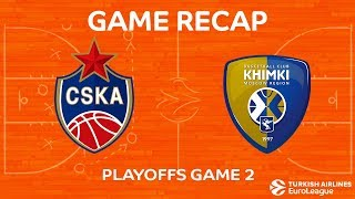 Highlights: CSKA Moscow - Khimki Moscow region