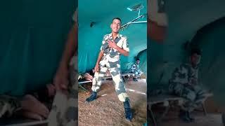 INDIAN ARMY BOY  DANCING.