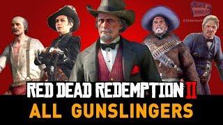 Red Dead Redemption 2 Stranger Mission - The Noblest of Men and a Woman (RDR2 Gunslingers)