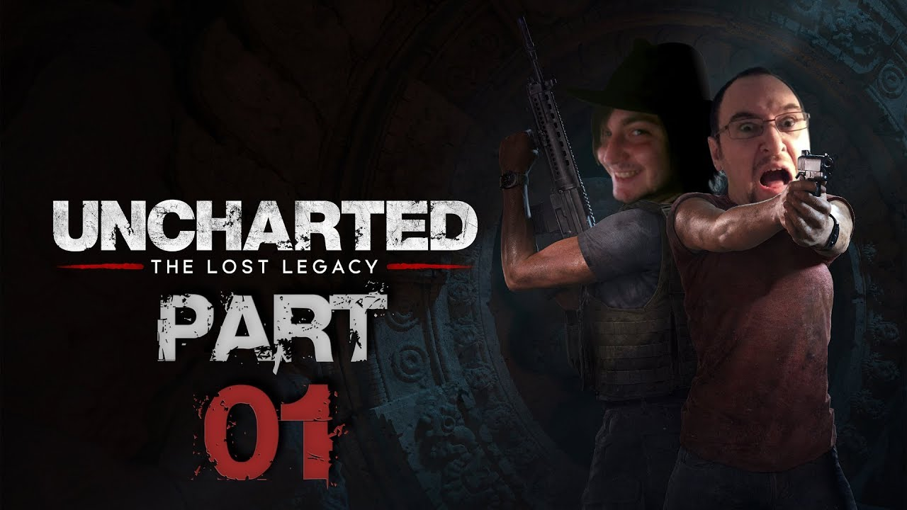 Uncharted: The Lost Legacy – Extrem Schwierig Run (feat. Andi) – Part 1
