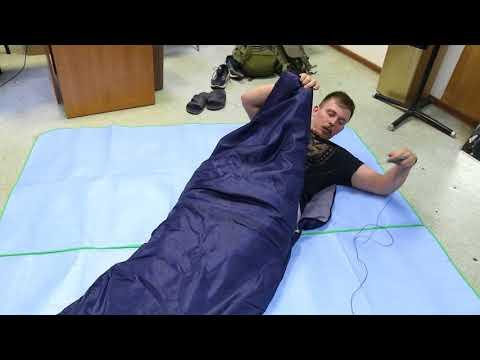 Спальный мешок-одеяло Greenell «Корк +10». Видеообзор.