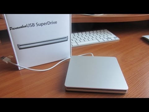 Обзор Apple USB SuperDrive (silver, MD564ZM/A)