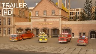 William Watermore the Fire Truck - Trailer 2 -  Real City Heroes (RCH) | Videos For Children