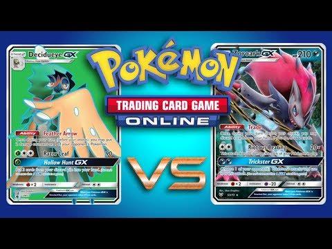 Decidueye GX / Zoroark GX vs Zoroark GX / Golisopod GX – Pokemon TCG Online Gameplay