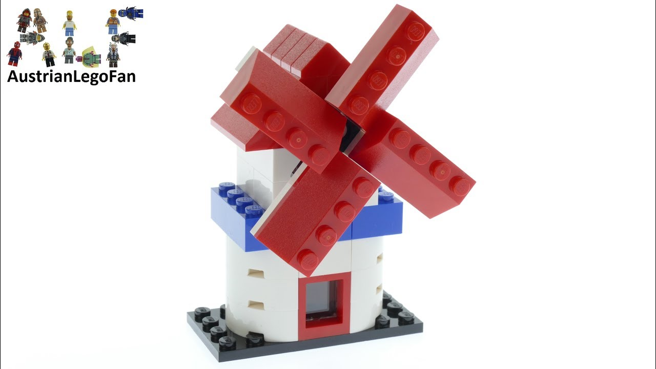 Lego 4000029 Windmill Limited Edition 60 Years of the LEGO Brick