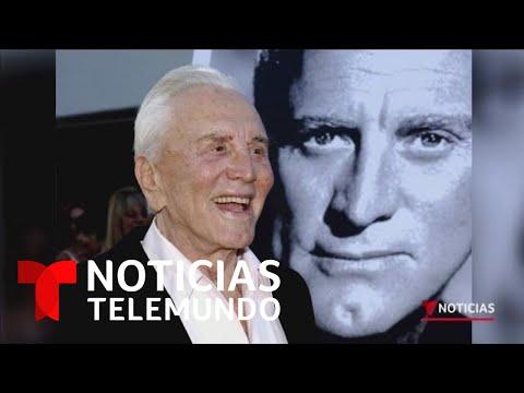 , title :'Kirk Douglas: Muere el legendario actor de Hollywood   Noticias Telemundo'