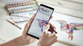 Samsung Galaxy Note 8 commercial ads