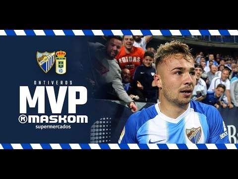 Ontiveros, flamante MVP ante el Real Oviedo
