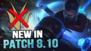 New in Patch 8.10 - WELCOME TO THE JUNGLE (League of Legends)
