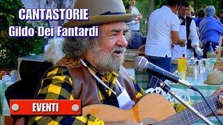 preview picture of video 'CANTASTORIE - Gildo Dei Fantardi - Fiera Mostra Mercato di Guamo e Coselli (LU)'
