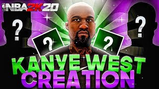 KANYE WEST FACE CREATION IN NBA 2K20!!! • HOW TO CREATE KANYE WEST IN NBA 2K20!!!