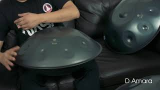 Handpan D Amara (Performance)