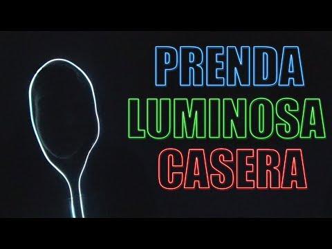 COMO HACER UNA PRENDA LUMINOSA CASERA | ROPA DE NEÓN