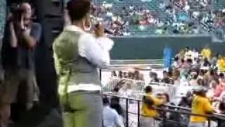YouTube- Chrisette Michele-Good Girl Cincinnati 7-25-08