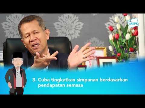 Tips Menabung oleh YBhg Dato' Dr Haji Mohd Fadzillah Kamsah
