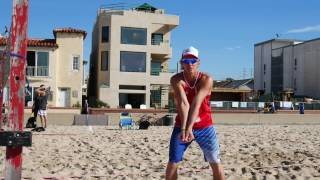 Beach Volleyball Advanced Passing Tutorial with VolleyCamp Hermosa