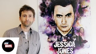 Ask Marvel: David Tennant, Kilgrave — Marvel's Jessica Jones