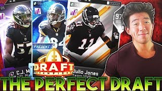 THE PERFECT DRAFT! SO MANY PLAYMAKERS! Madden 19 Draft Champions