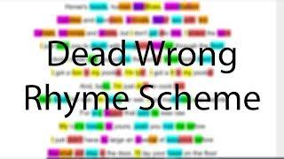 Dead Wrong - Eminem | Verse 3 Rhyme Scheme