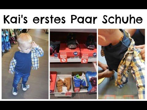 Die ersten Schuhe für Kai | babyartikel.de