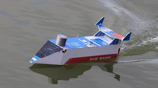 How to make a Boat - RC BOAT at home