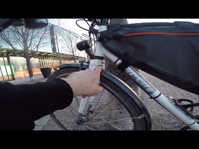 Видео Крылья SKS Bluemels Longboard Mudguards 45mm 28˝ Black