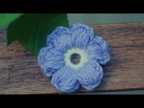 Einfache Blume Häkeln 3d Anleitung