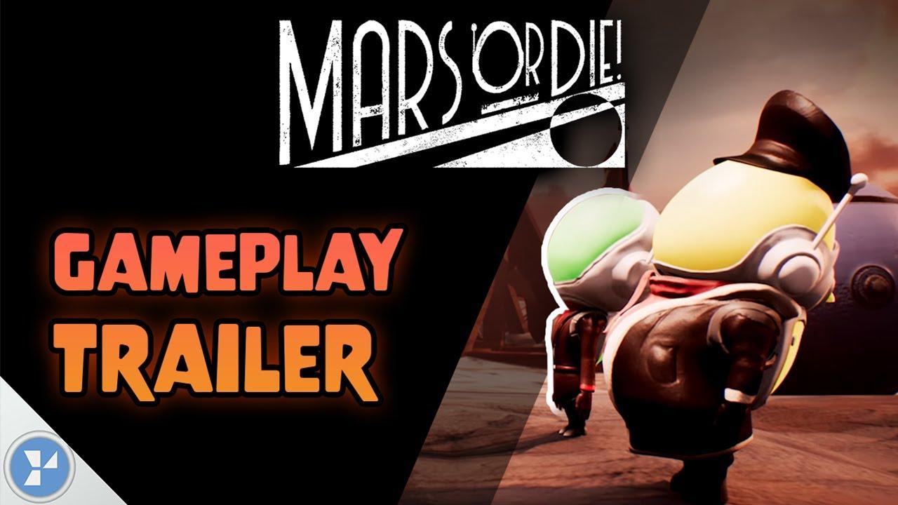 Trailer di Mars or Die!
